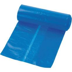 Afvalzak blauw LDPE