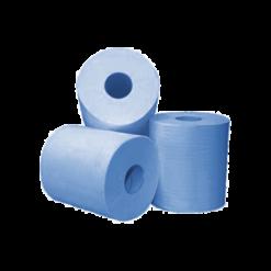 Midi poetspapier recycled blauw