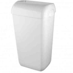 Afvalbak 23 liter wit