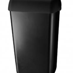 Afvalbak 23 liter zwart