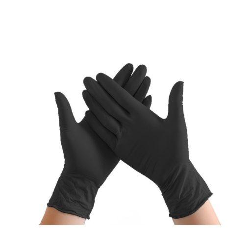 handschoen nitrill zwart