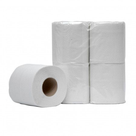 Toiletpapier recycled 2 laags